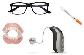 Teeth Glasses Hearing